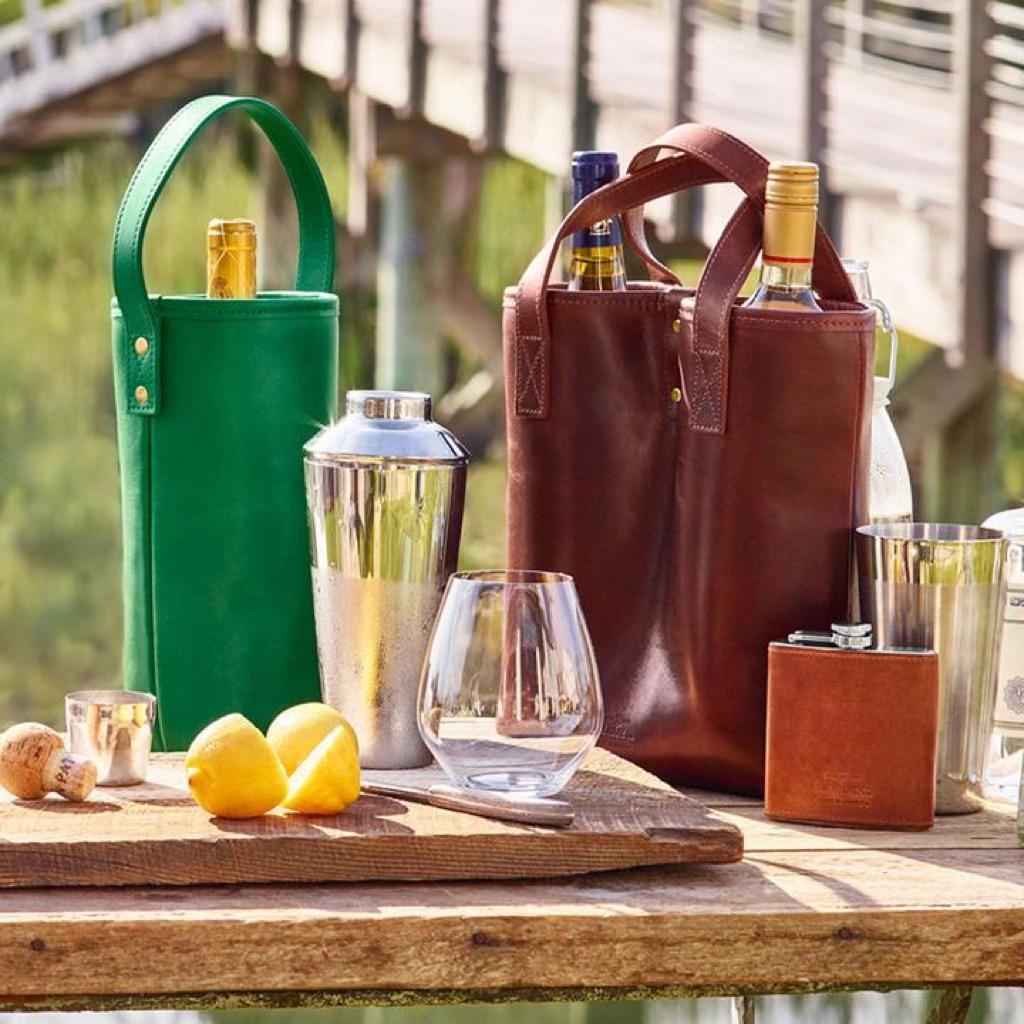 wine tote, unusual gifts