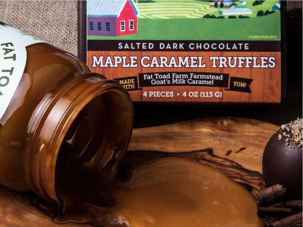 goat milk truffles, unusual gifts