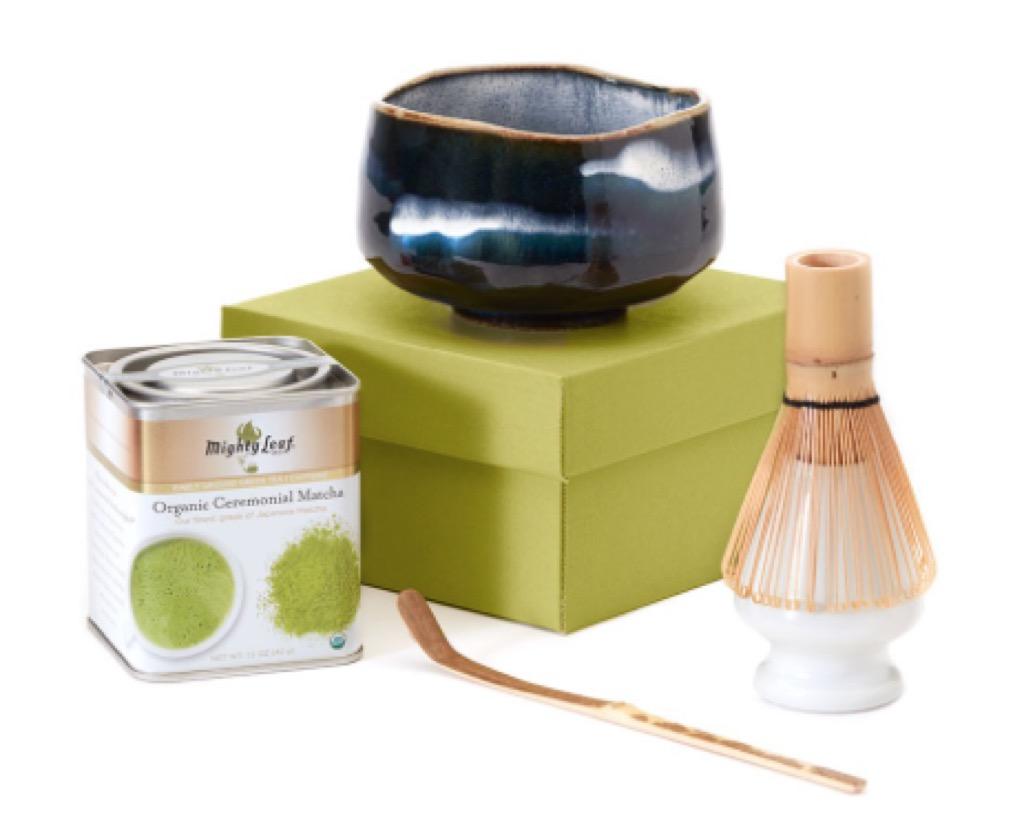 matcha tea set, unusual gifts
