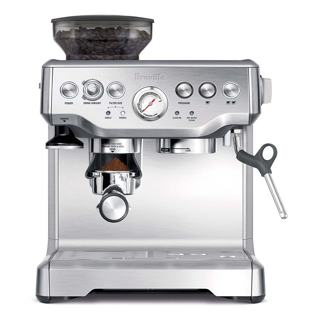 breville espresso machine cool gift ideas