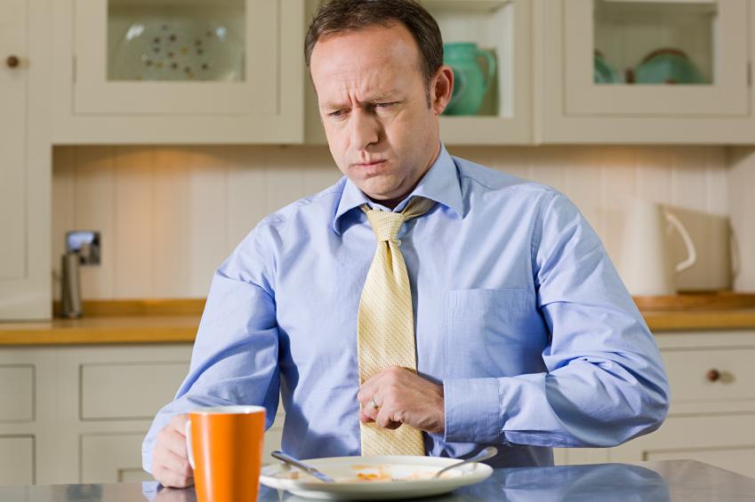 sleep after 40, heartburn