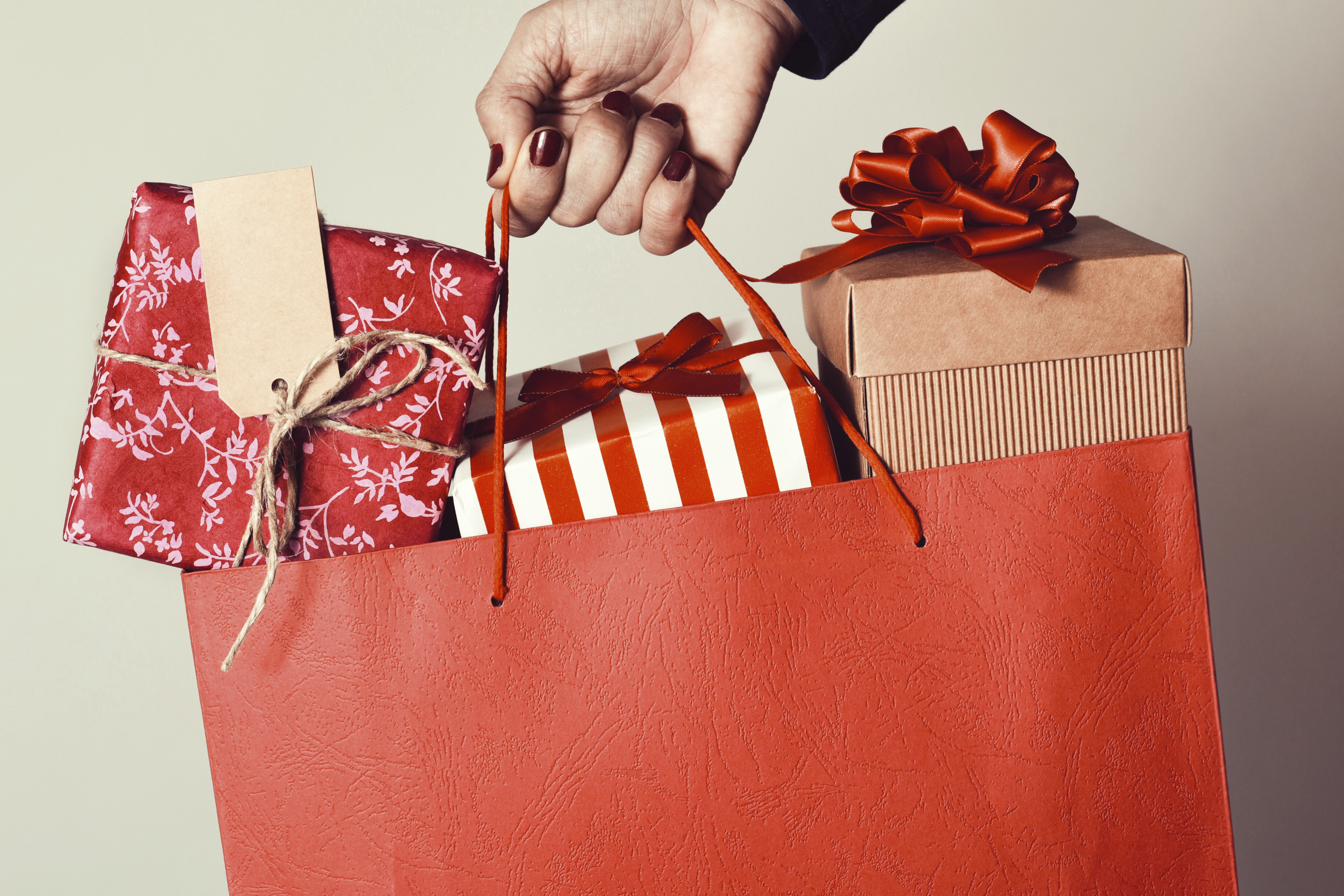 buying presents can make you instantly happy