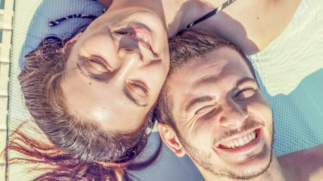 couple with healthy skin