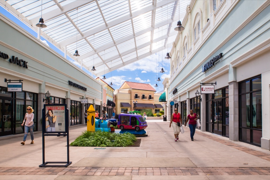 discounts outlet malls