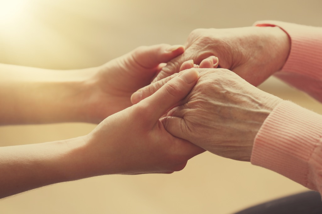 elderly hands marriage last forever, Pick-Up Lines So Bad They Might Just Work