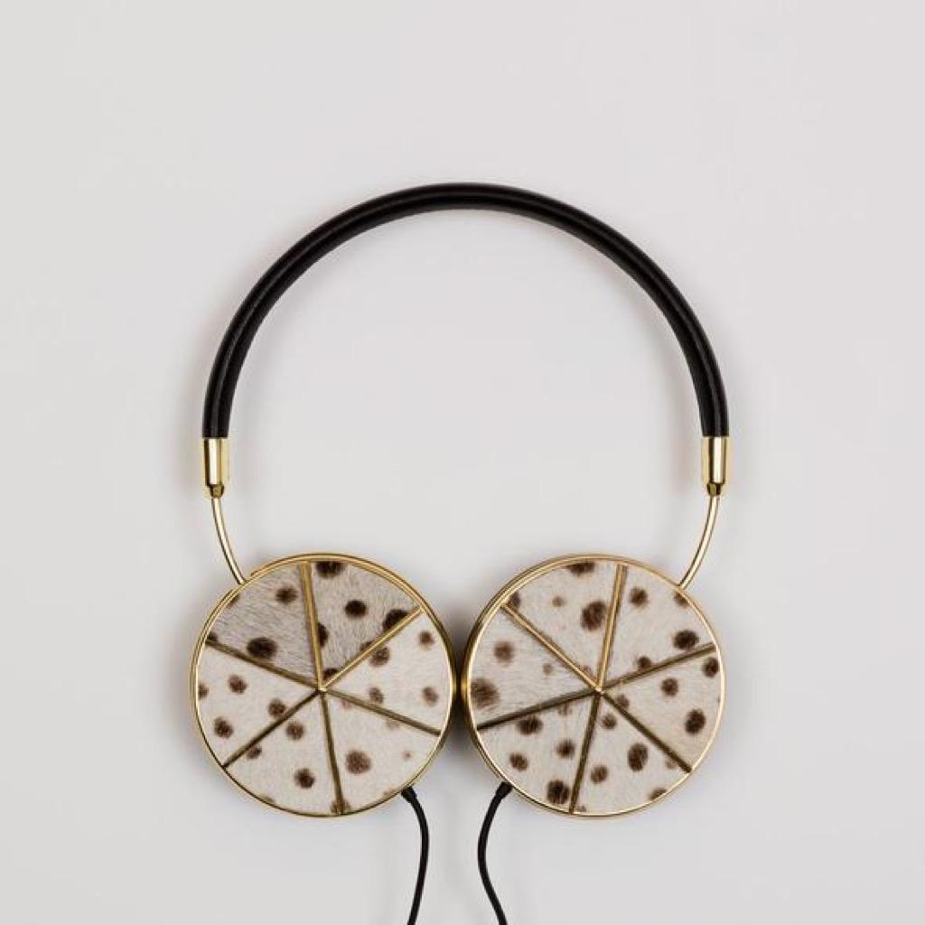 gold headphones unusual gifts