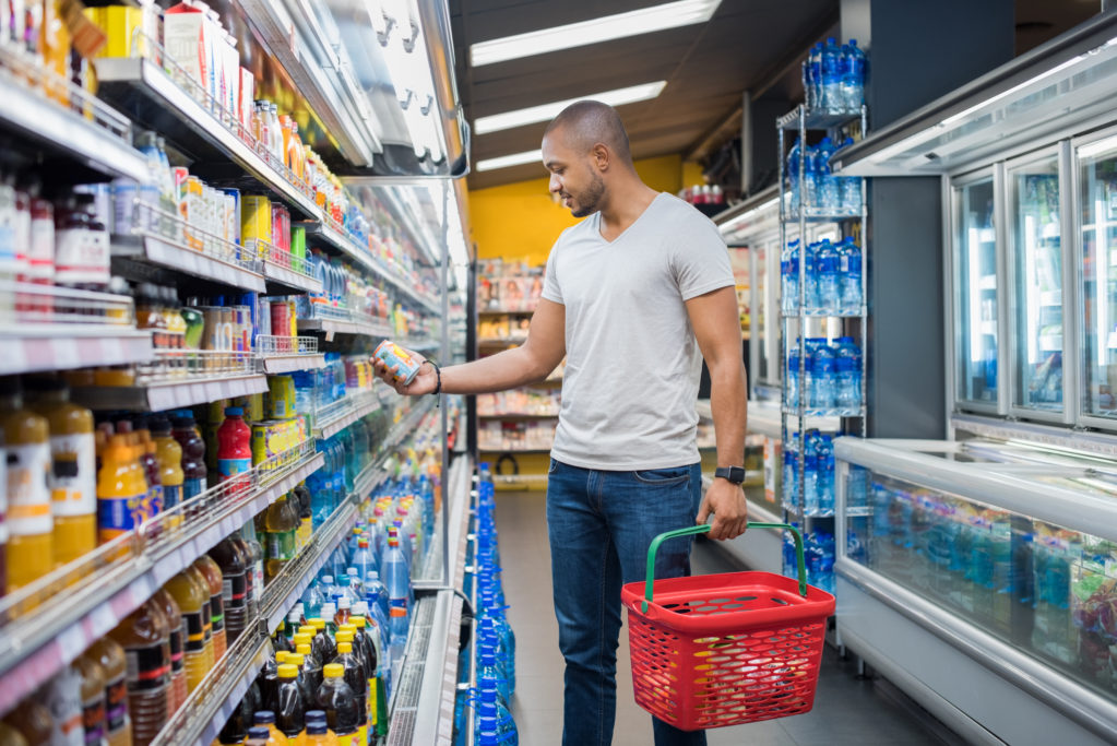 Man Grocery Shopping Mistakes