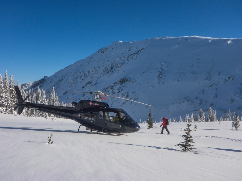 helicopter skiing, unusual gifts