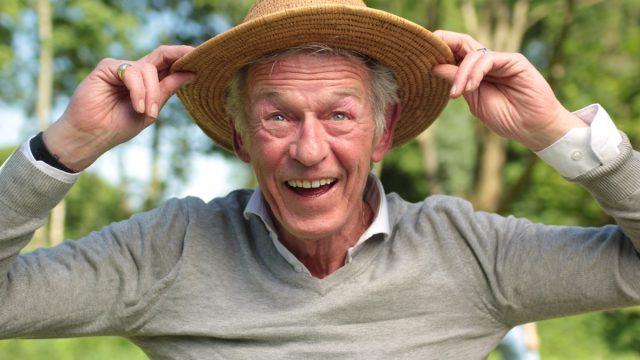 Kind Older Man Wearing a Hat Healthy Man - old people jokes
