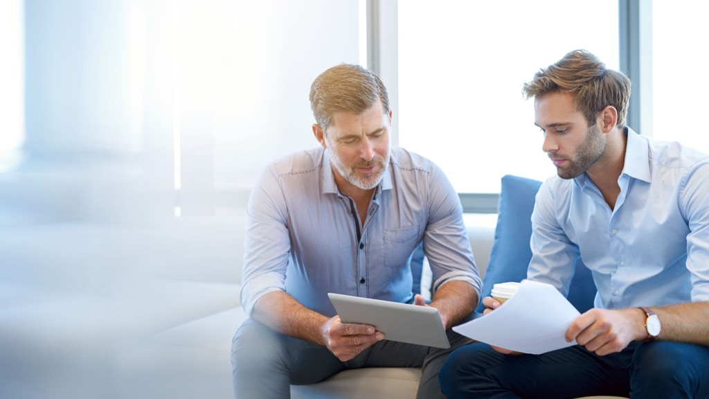 man with younger mentor advice you should ignore over 40