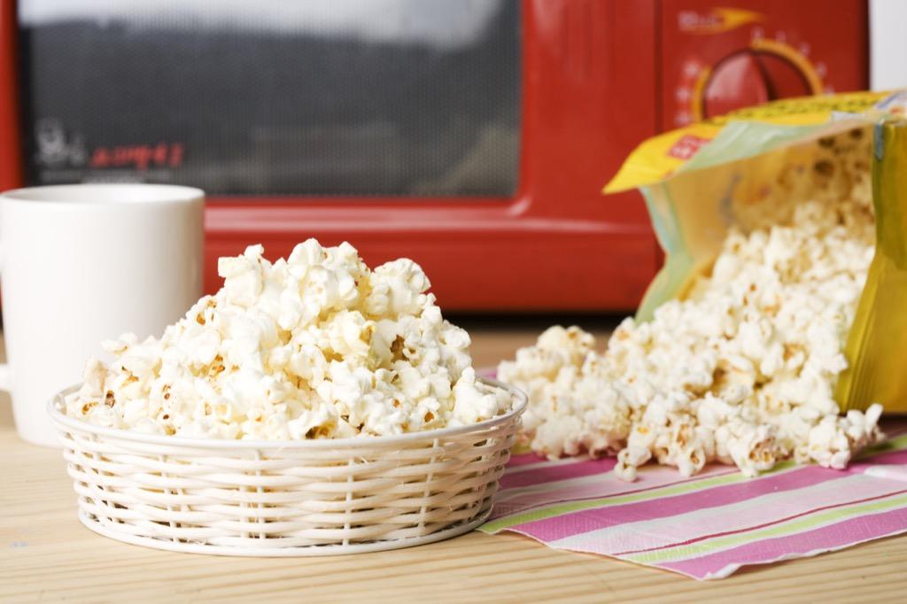 microwave popcorn stay sharp improve memory