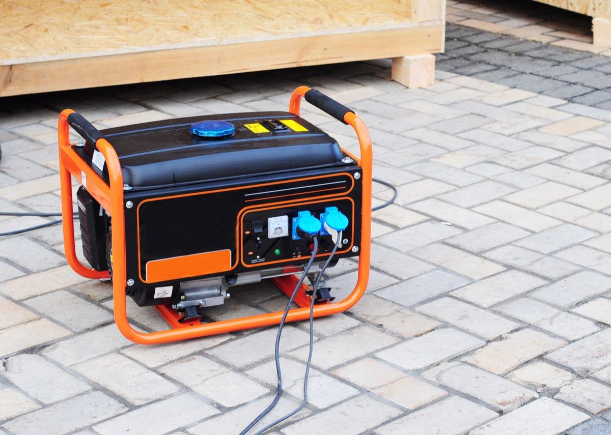 A Portable Generator Home Hazards