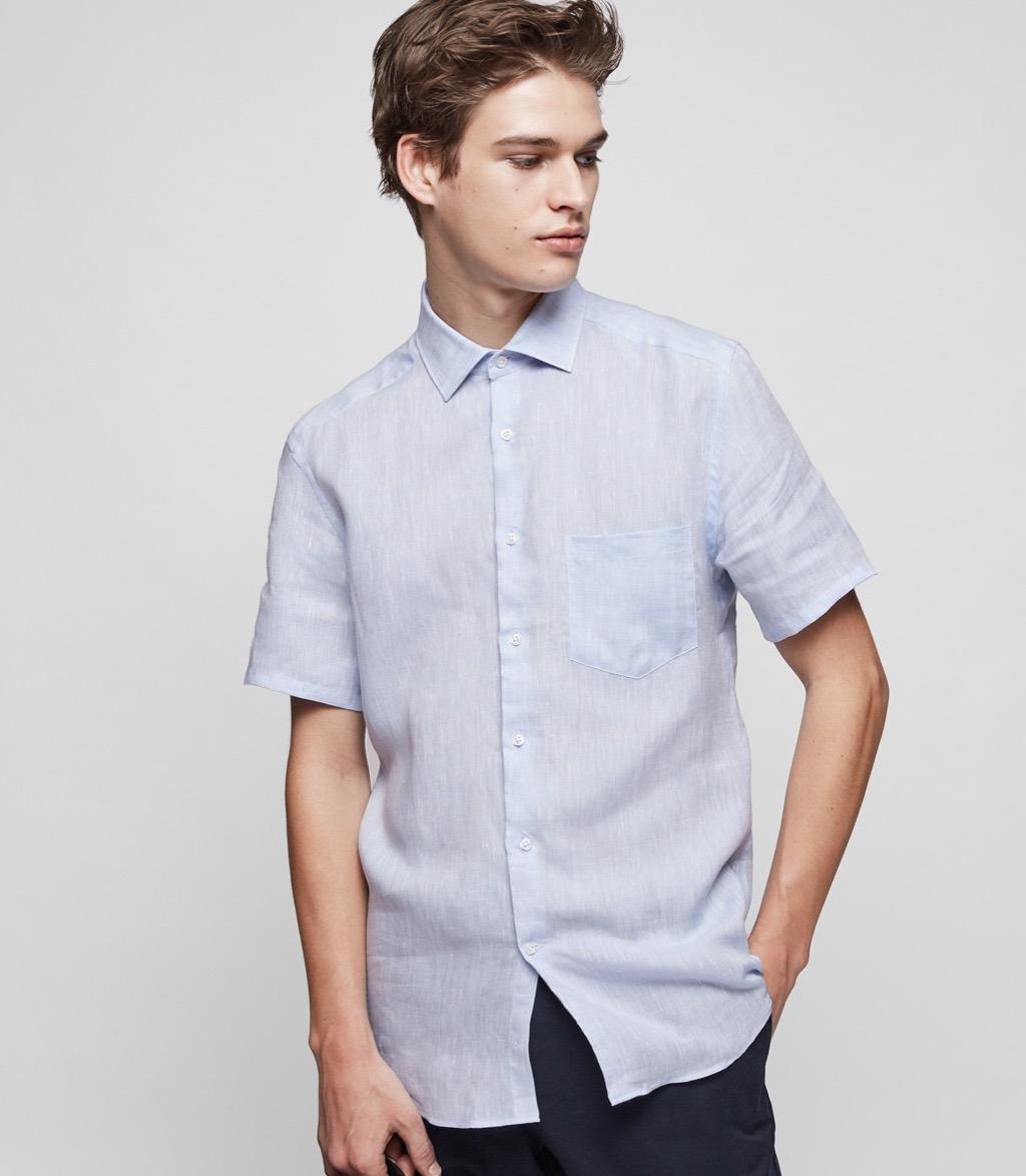 reiss linen shirt upcoming films