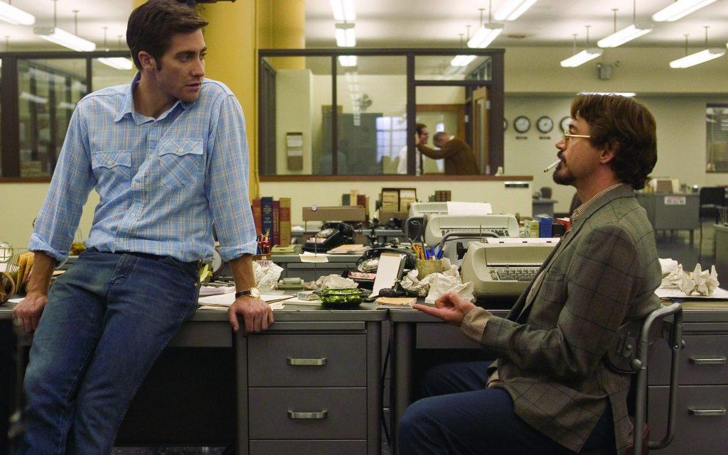 Robert Downey Jr. Jake Gyllenhaal Zodiac