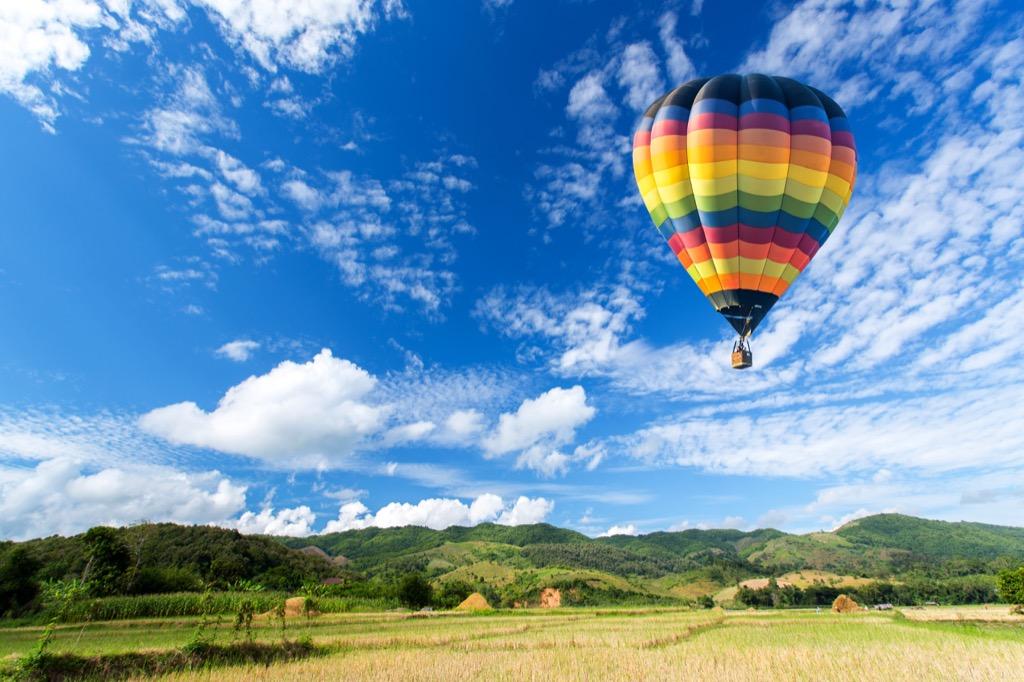 hot air balloon, second date ideas, Best Date Ideas