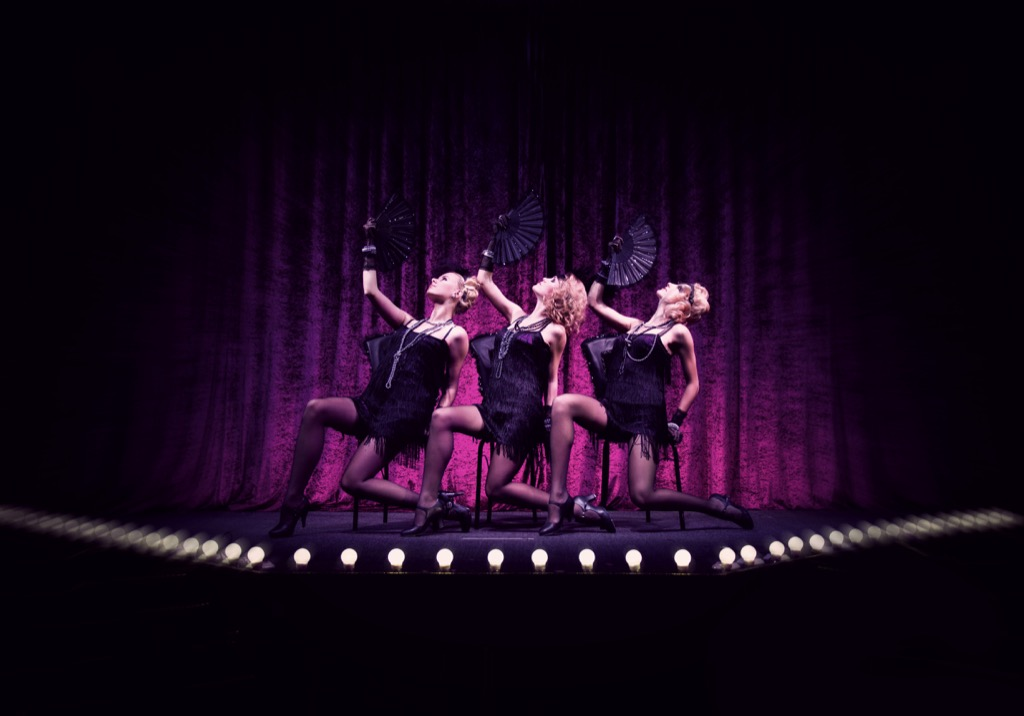 A burlesque show, a great non-cliché second date. second date ideas
