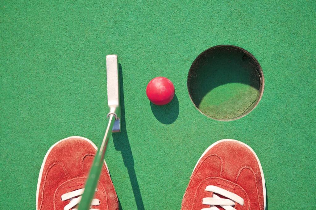 mini-golf, date night ideas