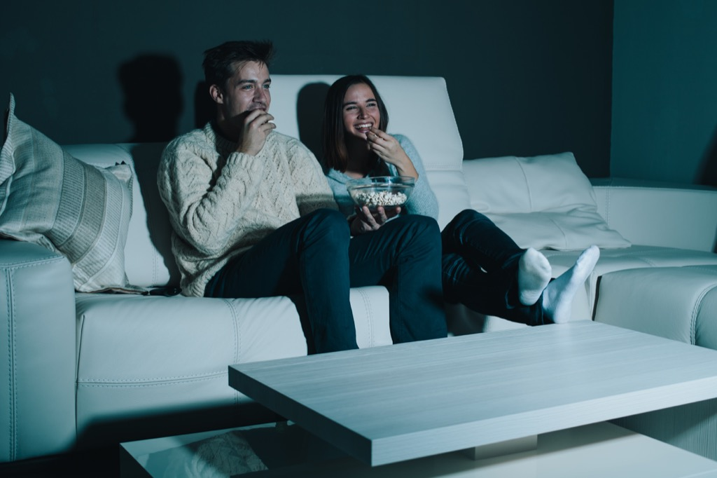 watching your favorite movie can make you instantly happy