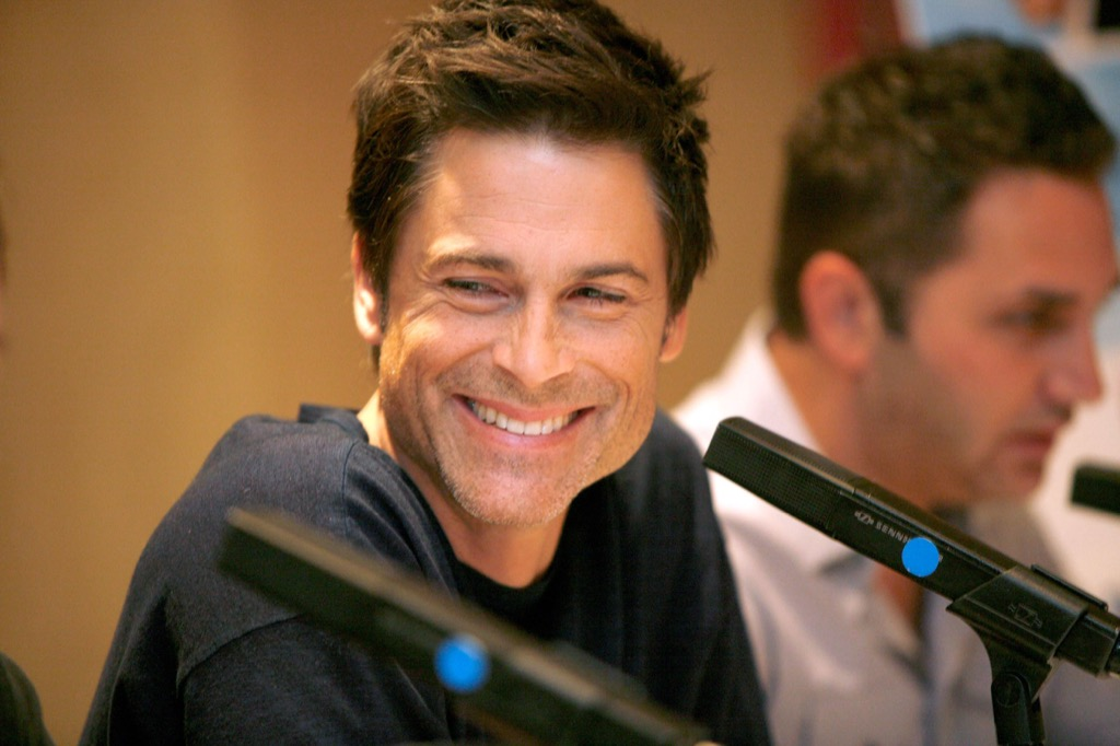 Rob Lowe celebrity facts