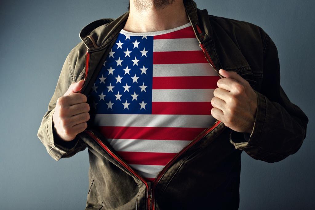 patriotism, american flag