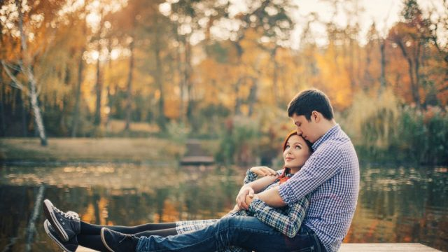 couple on dock long-distance relationships