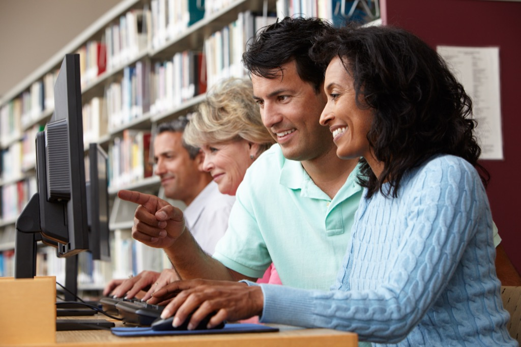 mature students feel younger 40