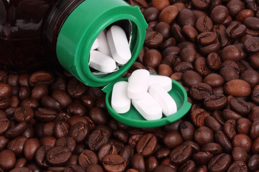 caffeine pills Most Abused OTC Medications