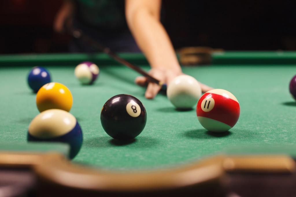pool, billiards, second date ideas Best Date Ideas