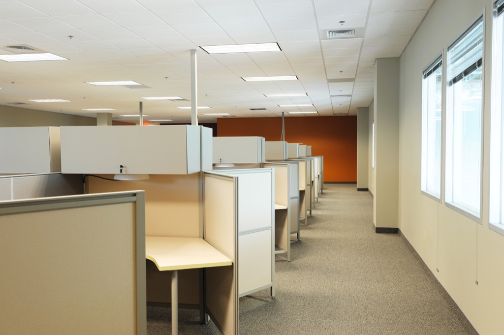 office cubicle Science-Based Happiness Hacks