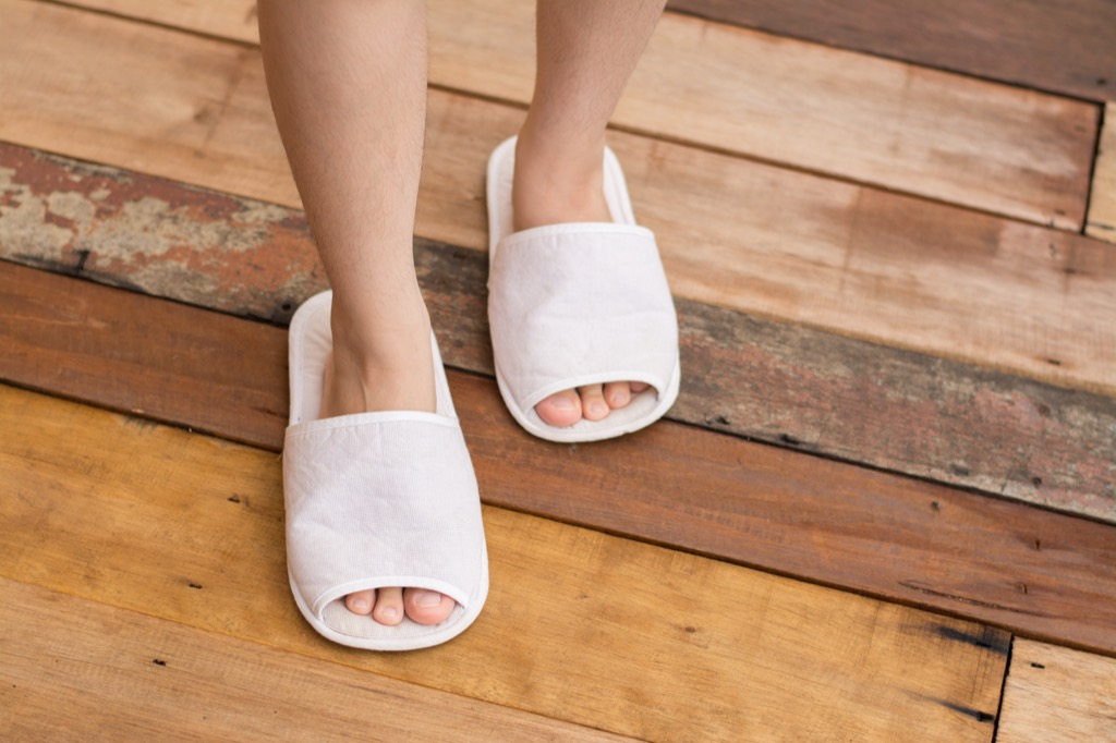 bathroom slippers, cultural mistakes