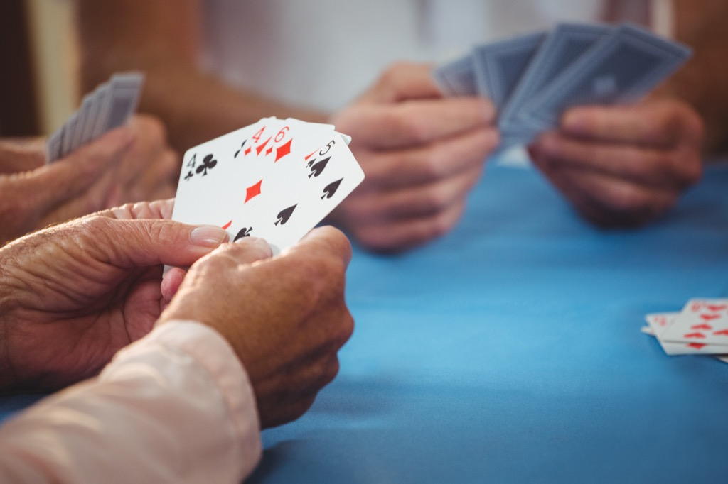people playing cards