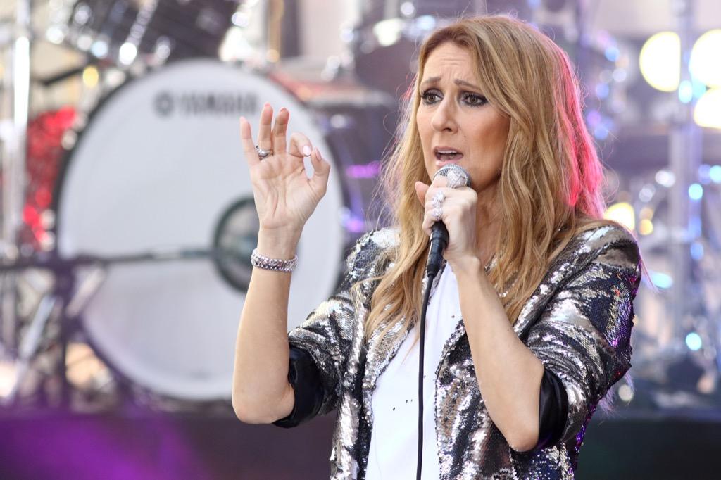 Celine Dion celebrity facts
