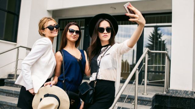 women posing, fashion, things millennials say
