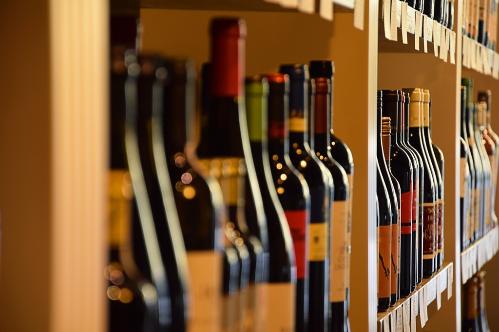 benefits of wine in store