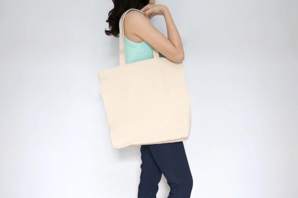 Woman with Tote Slang Terms