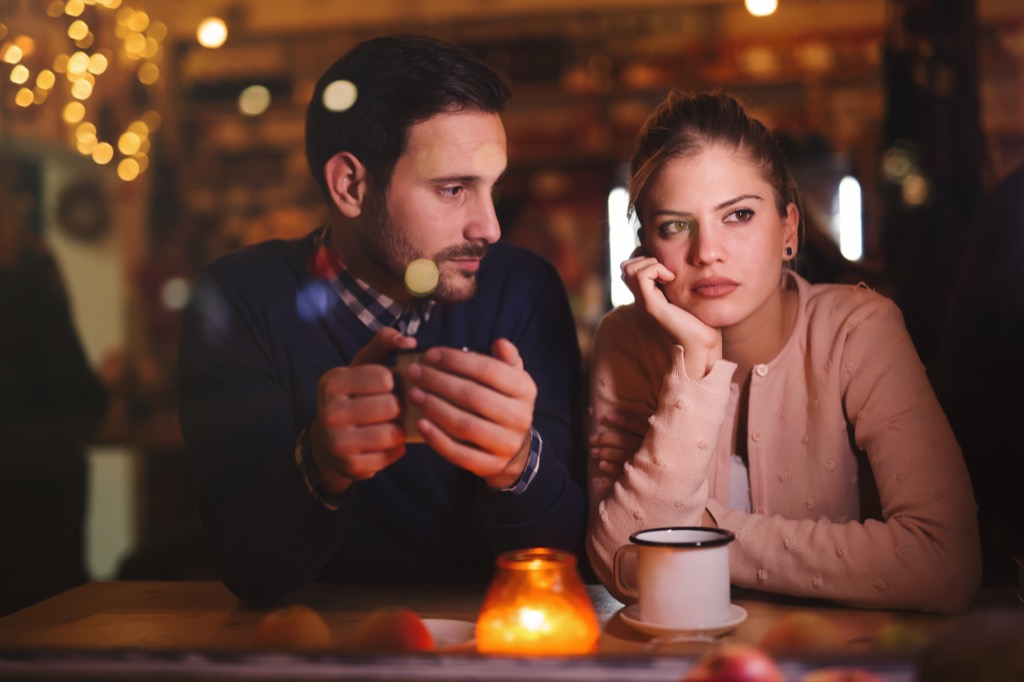 Couple in Disagreement Over 40