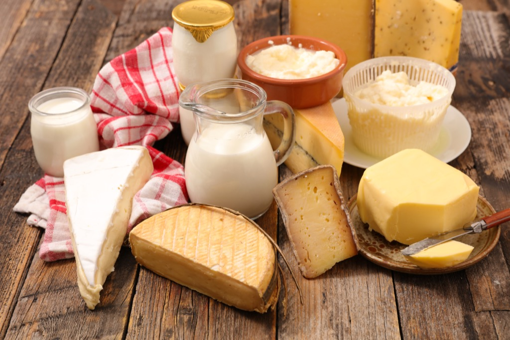 dairy and cheeses, ways your body changes after 40