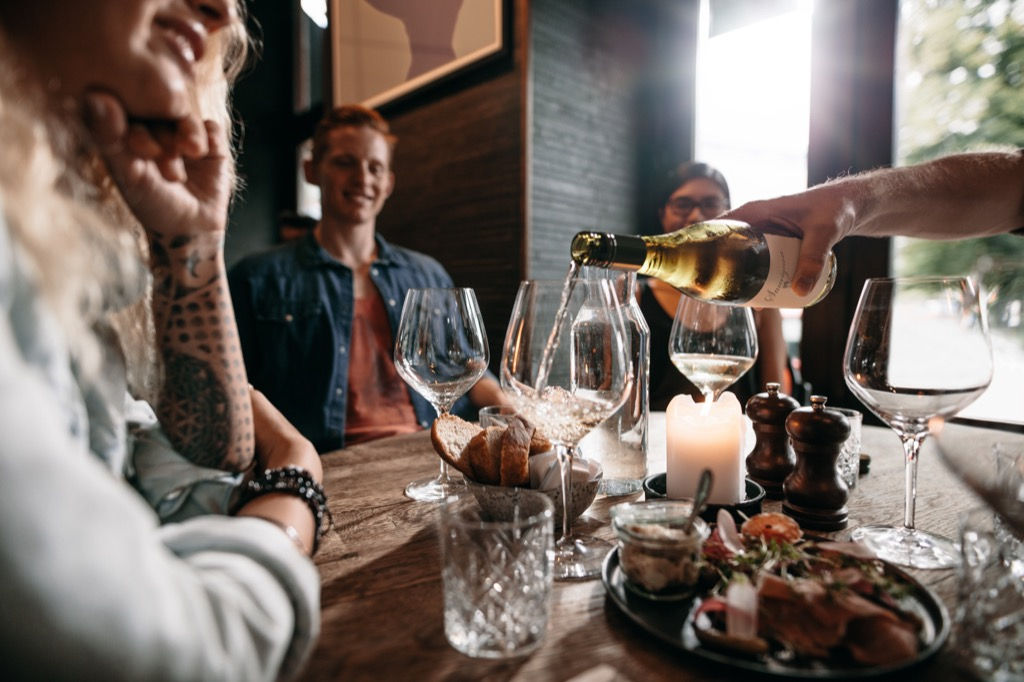 Pace Your Drinking, Things You Should Always Do at a Fancy Restaurant