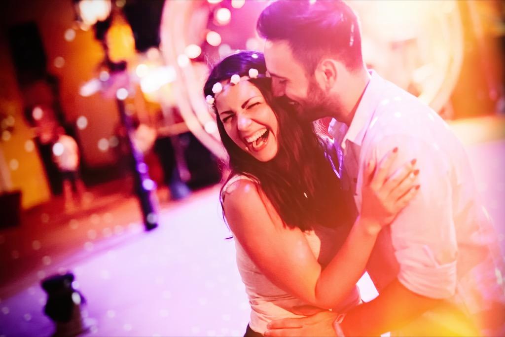 couple dancing, date night ideas