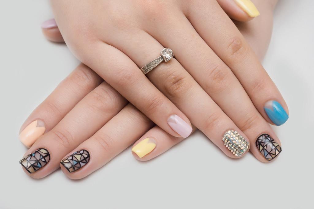 nail art, what not to wear, women