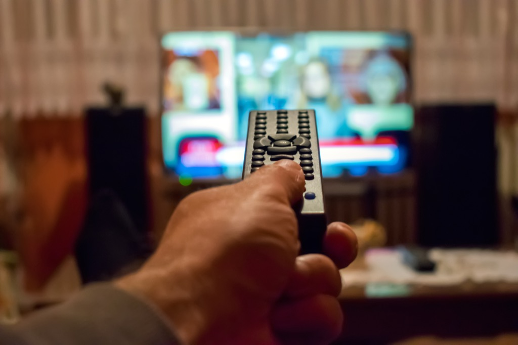 not watching tv can make you instantly happy