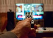 tv remote television