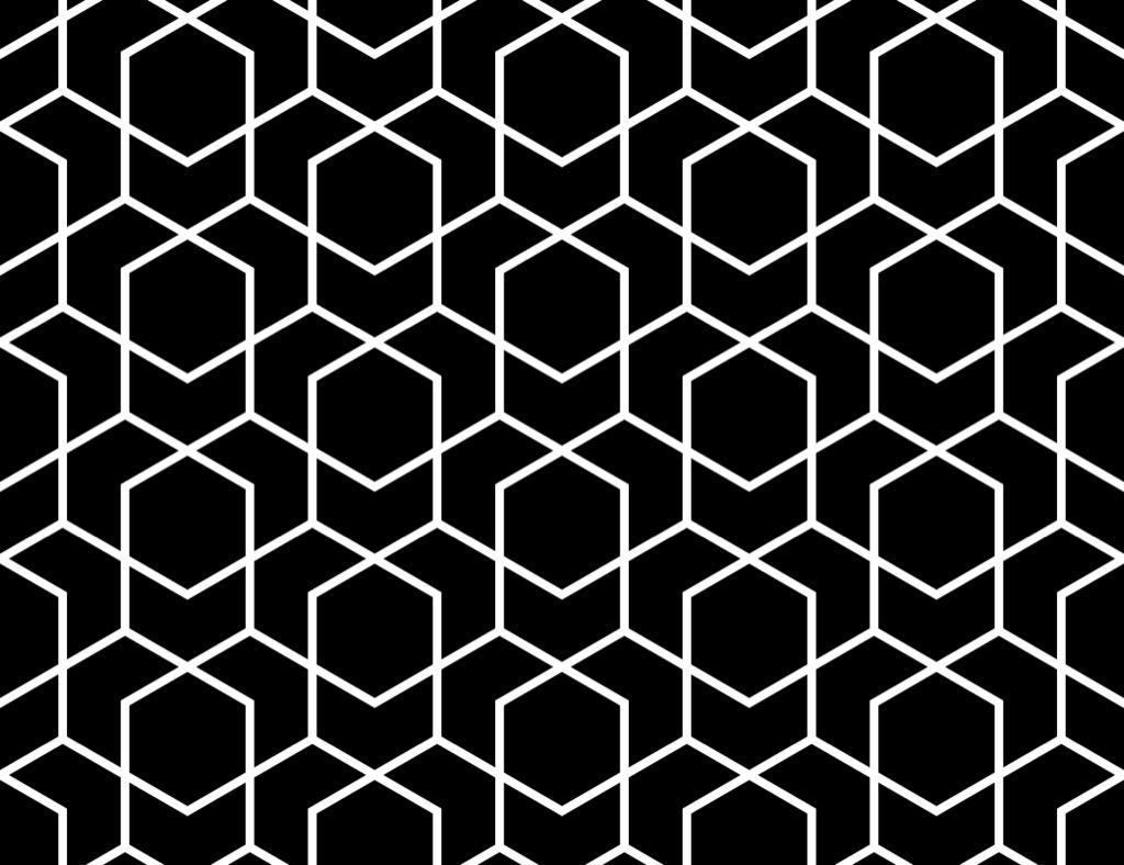 geometric art office stuff