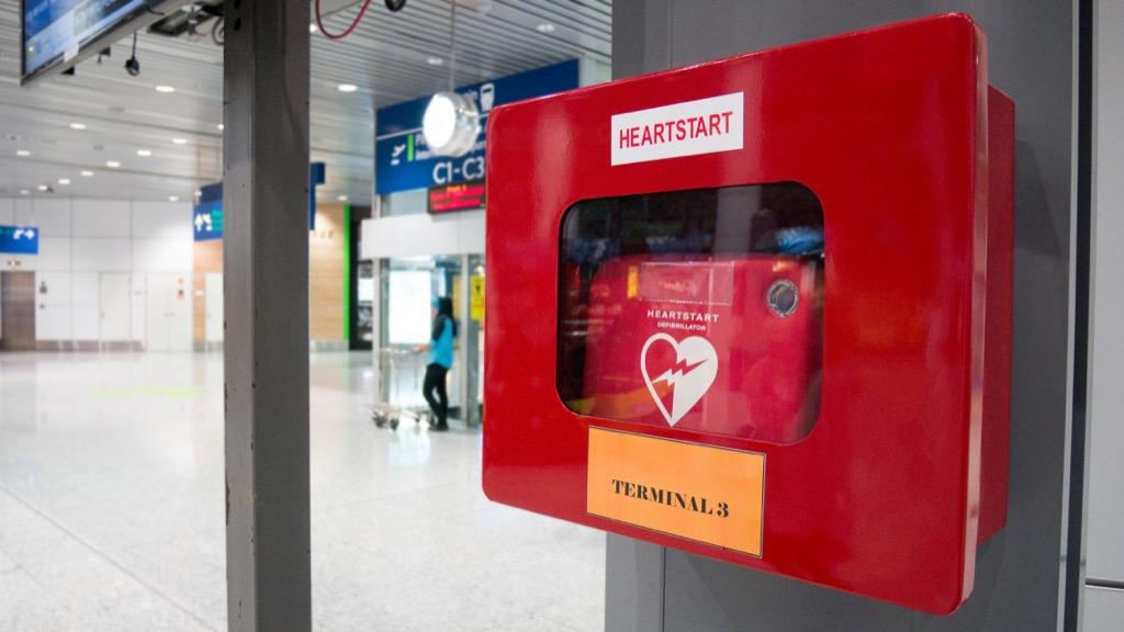 defibrillator, cpr, chest compressions, cardiac arrest