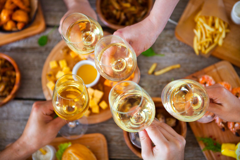 benefits of wine white wine cheese