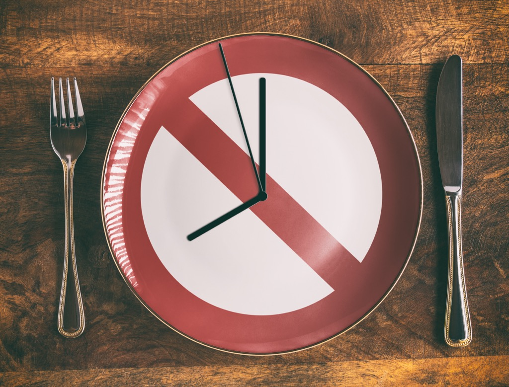 fasting, not eating, controlling cravings