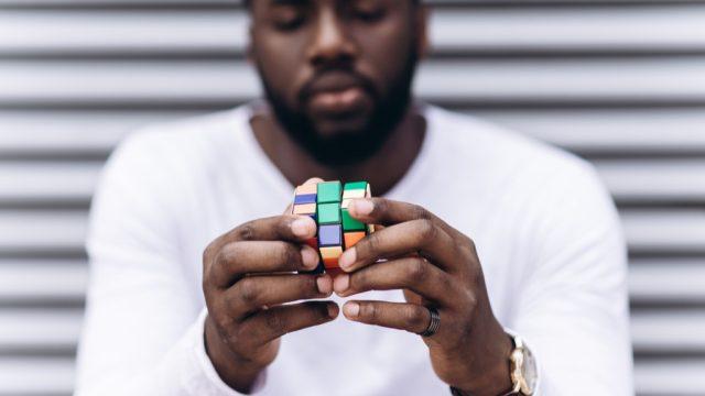 rubiks cube, smart person habits