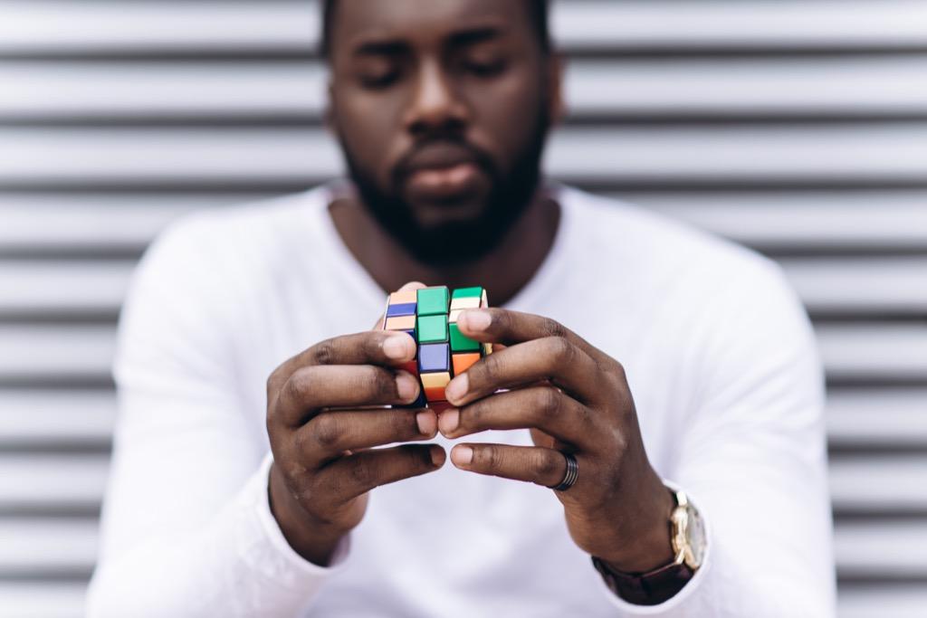 rubiks cube, improve memory
