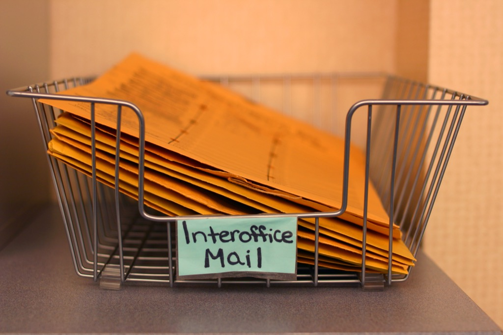 interoffice mail