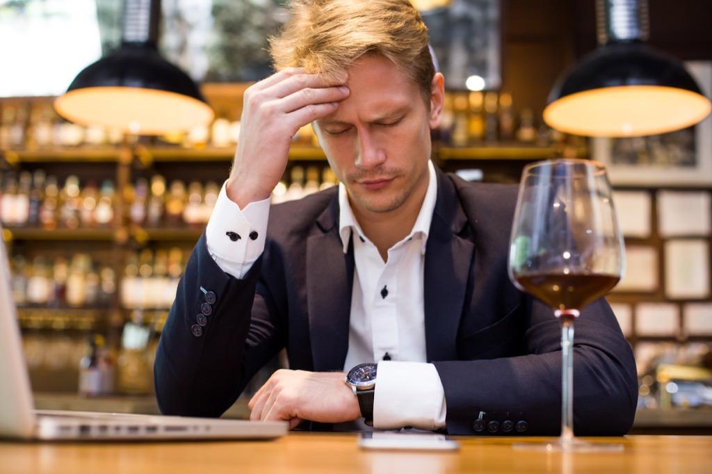 sick person wine benefits of wine